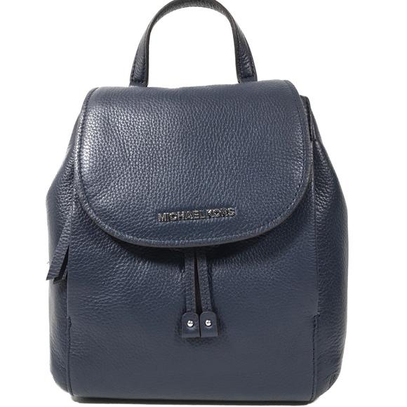 michael kors bags hayes medium leather backpack poshmark rh poshmark com
